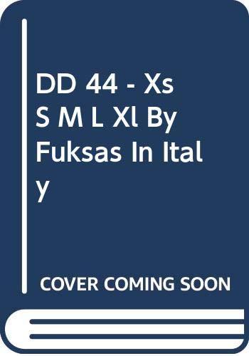 9788968010866: DD 44 - Xs S M L Xl By Fuksas In Italy
