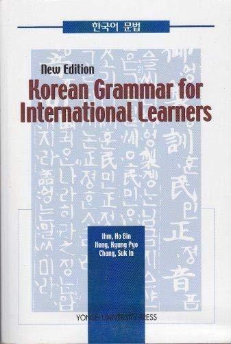 Korean Grammar for International Leaders: Ihm, Ho Bin;