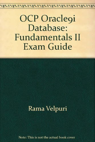 9788972753162: OCP Oracle9i Database: Fundamentals II Exam Guide
