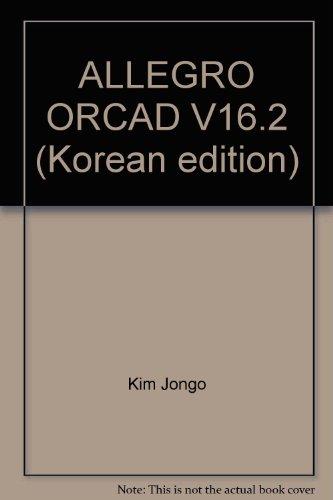 9788980005123: ALLEGRO ORCAD V16.2 (Korean edition)