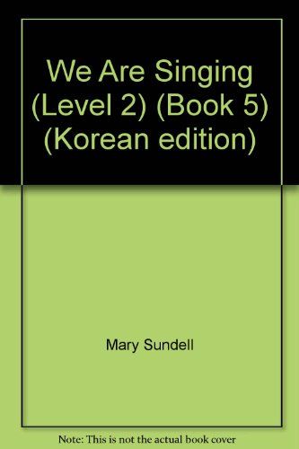 We Are Singing (Level 2) (Book 5) (Korean edition)