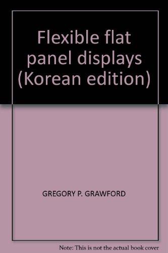 9788988247426: Flexible flat panel displays (Korean edition)