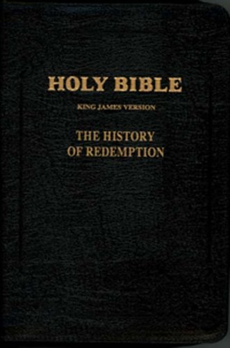 History of Redemption Bible: Large Leather w/Zipper: Everlasting Gospel Publishing Association