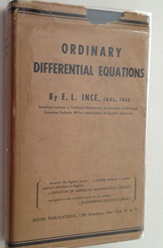 9788989623618: Ordinary Differential Equations