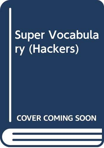 9788995151761: Super Vocabulary (Hackers)
