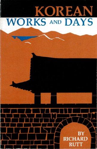 Korean Works and Days: Richard Rutt