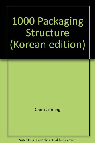 9788996629894: 1000 Packaging Structure (Korean edition)