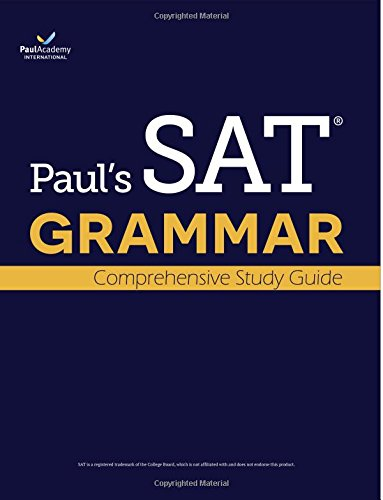 9788996792178: Paul's SAT Grammar: Comprehensive Study Guide: The Most 16 Tests Among All SAT Grammar Books