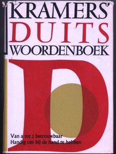 Kramers' woordenboek Duits: Duits-Nederlands/Nederlands-Duits: van Dam, J.