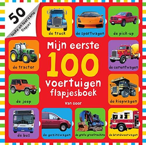 9789000350049: Mijn eerste 100 voertuigen: flapjesboek