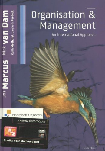 9789001809669: Organisation and management: an international approach