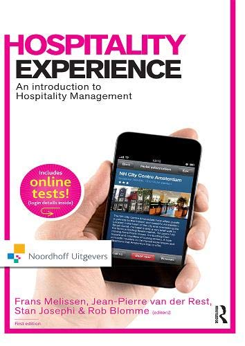 9789001813857: Hospitality Experience (Routledge-Noordhoff International Editions)