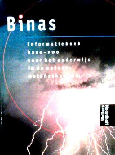 9789001893774: Binas - Informatiebook havo-vwo voor het onderwijs in de natuurwetenschappen
