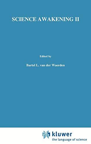 9789001931032: Science Awakening II: Birth of Astronomy Bk.2