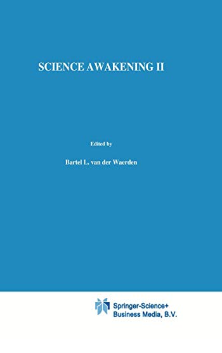 Science Awakening II: Birth of Astronomy Bk.2