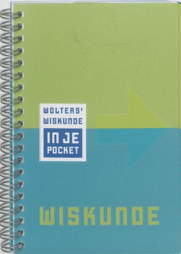 9789001970727: Wolters' Wiskunde in je pocket