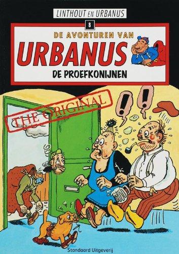 9789002218637: De proefkonijnen (De avonturen van Urbanus (8))