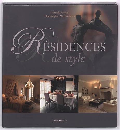 9789002223082: R�sidences de style