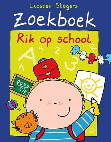 9789002247392: Rik op school (Zoekboek)