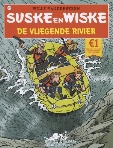 9789002251054: Suske en Wiske / De vliegende rivier / druk 1