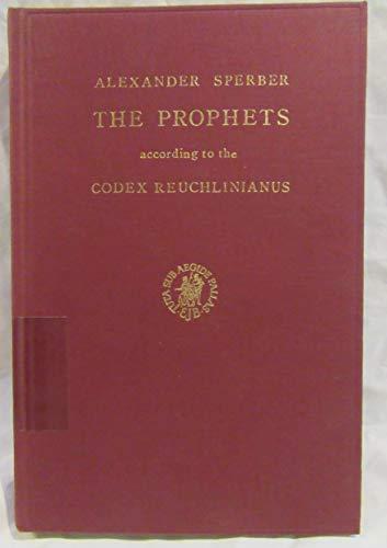 The Hebrew Bible: With Pre-Masoretic Tiberian Vocalization.: Sperber, A.
