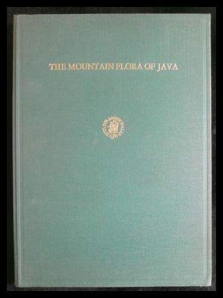 The mountain flora of Java: Steenis, C. G. G. J. van