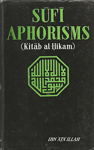 9789004037557: Ṣūfī aphorisms: (Kitāb al-Ḥikam)