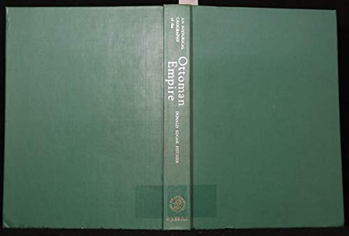 9789004038288: An Historical Geography of the Ottoman Empire: From Earliest Times to the End of the Sixteenth Century