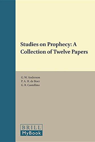 Studies on Prophecy: A Collection of Twelve: n/a