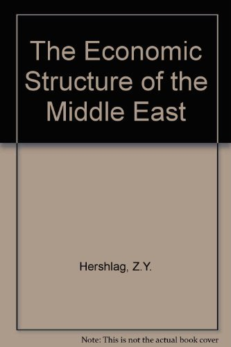 The Economic Structure of the Middle East: Z.Y. Hershlag