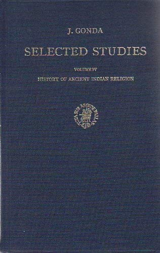 9789004042339: History of Ancient Indian Religion: J. Gonda Selected Studies, Vol. 4