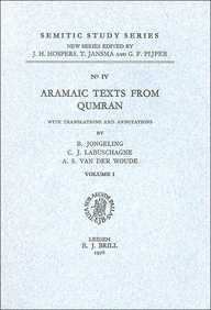 9789004044524: Aramaic Texts from Qumran (Semitic Study Series , No 4) (English and Aramaic Edition)