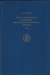 Annual Egyptological Bibliography / Bibliographie Egyptologique Annuelle 1976: Jac J. Janssen
