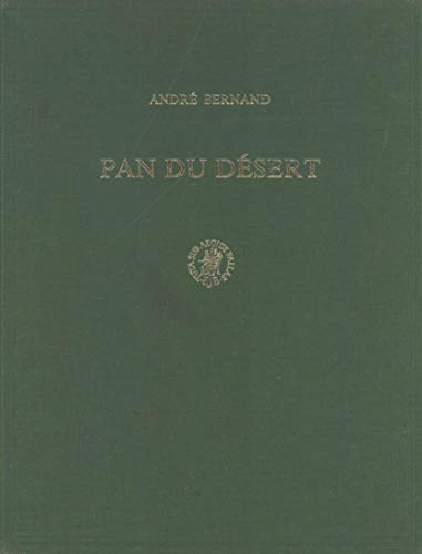 Pan du Desert (Hardback): Andre Bernand