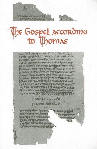 9789004048775: The Gospel According to Thomas