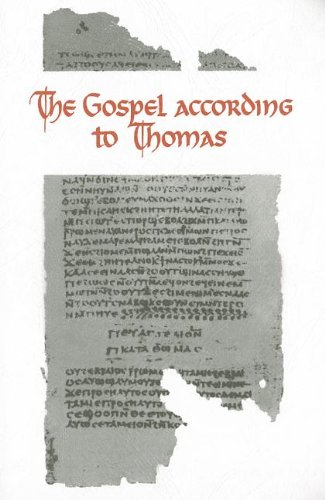 The Gospel According to Thomas: Coptic Text: Guillaumont, A. and