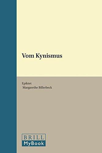 Epiktet vom Kynismus - Billerbeck, Margarethe (Hrsg.)