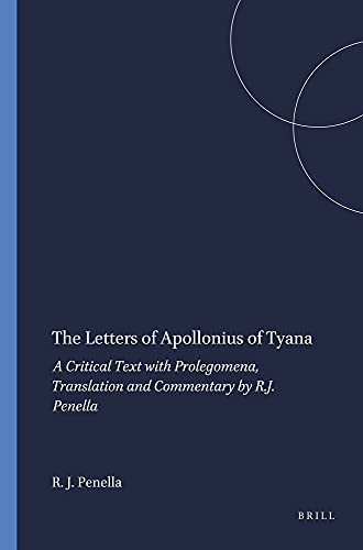 The letters of Apollonius of Tyana: A critical text with prolegomena, translation and commentary (...