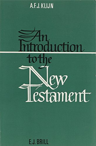 An Introduction to the New Testament (Paperback): A. F. J. Klijn