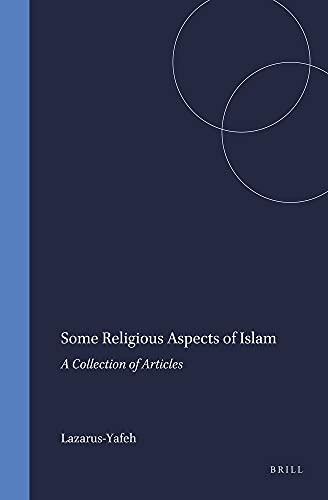 9789004063297: Some Religious Aspects of Islam: A Collection of Articles (Numen Book Series)
