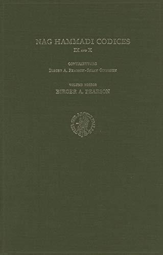 Nag Hammadi Codices IX and X (The Coptic Gnostic Library) (Hardback)