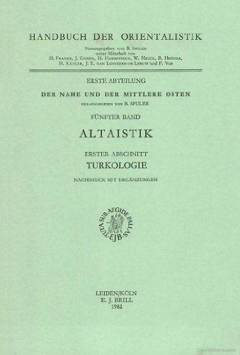 Turkologie (Paperback): J. Benzing, Annemarie Von Gabain, Omeljan Pritsak