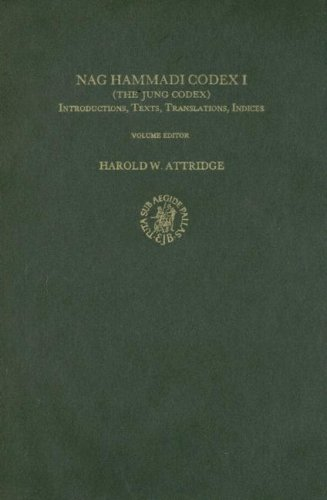 Nag Hammadi Codex I - The Jung Codex: Introductions, Texts, Translations, Indices - The Coptic ...