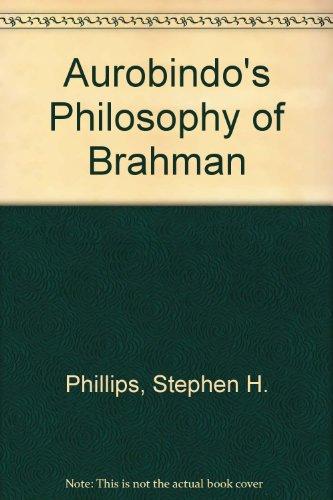 9789004077652: Aurobindinos Philosophy of Brahman