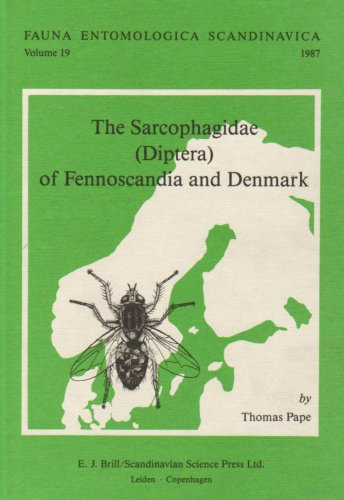 9789004081840: The Sarcophagidae - Diptera - Of Fennoscandia and Denmark (Fauna Entomologica Scandinavica)