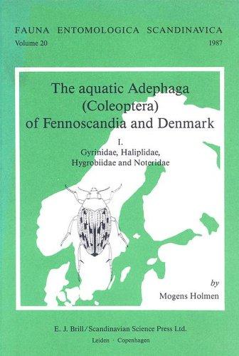 The Aquatic Adephaga - Coleoptera - Of: Holmen