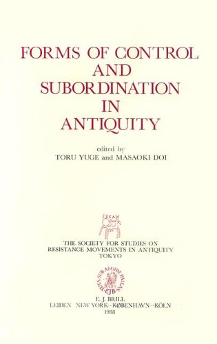 9789004083493: Forms of Control and Subordination in Antiquity