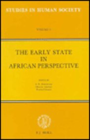 9789004083554: The Early State in African Perspective Culture, Power and Division of Labor: Culture, Power and Division of Labor (Studies in Human Society)