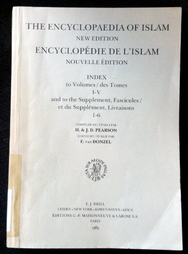 9789004088498: The Encyclopaedia of Islam/New Edition Encyclopedie De L'Islam/Nouvelle Edition (The encyclopaedia of Islam - new edition / Encyclopedie de l'Islam - nouvelle edition, tome)