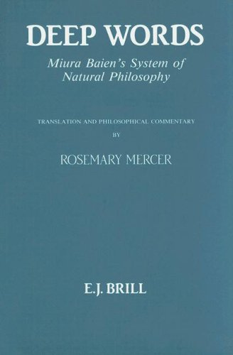 9789004093515: Deep Words: Miura Baien's System of Natural Philosophy (Philosophy of History and Culture)